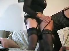 Amazing Amateur Shemale movie with Mature, Stockings scenes porn tube video