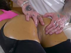 Martina Gold swallows after a jaw dropping anal fuck porn tube video