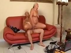 Busty chubby mature milf sucking hard cock and getting fucked roughly from horny man porn tube video