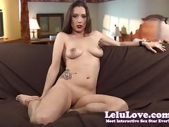 Lelu Love-Your Slutty Insatiable Cunt Wife porn tube video