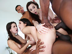 Anal, Anal, Group, Interracial, Orgy, Double Penetration