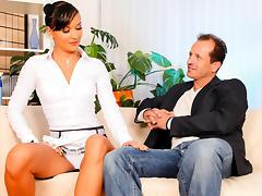 Carmen Ferrara & George Uhl in My Sex Mistress - MileHighMedia