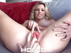 Mom and Boy, Anal, Assfucking, Asshole, Big Tits, Blonde