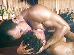 Danny Brown & Tanner Reeves in Glory Holes #3 - Cops, Cocks, Cum Scene 8 - Bromo