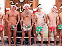 Christmas 2016 - 6-Man Orgy Military Porn Video - ActiveDuty