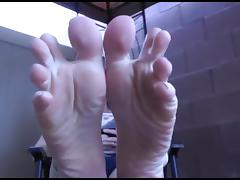 Sexy Feetfetish soles porn tube video