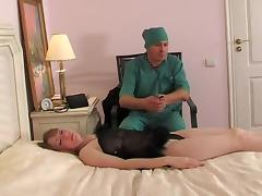 pervert doctor tricks dreamy blonde patient porn tube video