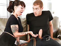 Dollie Darko & Xander Corvus in Summon The Cock - BurningAngel