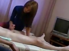 Hottest Homemade video with Massage, Handjob scenes