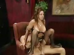 Mom fucked in the anus