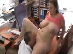Curvy office fuck porn tube video
