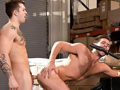 Dick Moves XXX Video: Mike De Marko & Sebastian Kross - FalconStudios
