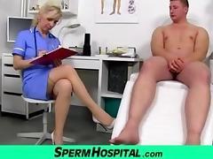 Doctor, Boobs, Cum, Doctor, Legs, Mature