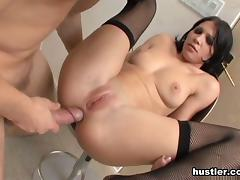 Rebeca Linares in Gaped Crusaders #2 - Hustler