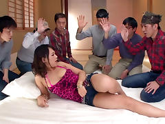 Tokyo, Asian, Big Tits, Blowjob, College, Creampie