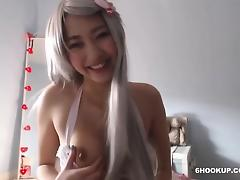 HOT COSPLAY GIRL FUCK TIGHT WITH porn tube video