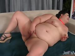 Sexy Plumper Gets Her Fat Cunt Fucked All Over the Place porn tube video