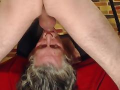 Sucking and cum