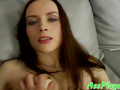 Smalltitted babe assfucked by her lover porn tube video