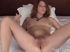 Sexy Teal Toying Her Cunt porn tube video