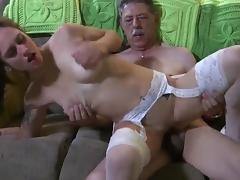 Grandpa fuck girl tube porn video