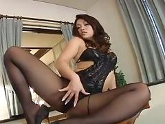 Sexy Jav Mature Pantyhose Show 1 tube porn video