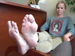 Sexy feetfetish soles 2 porn tube video