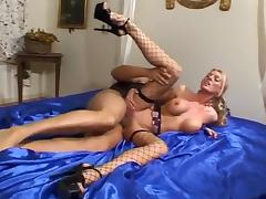 Amazing Homemade record with Stockings, Big Tits scenes
