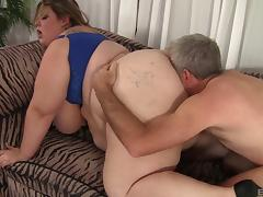 Obese beauty Mandy Majestic ravished by a horny fellow porn tube video
