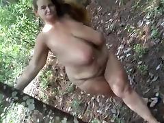 Mature BBW tube porn video