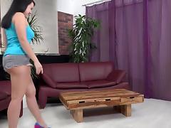 Brutal didlo insertion follows fun pee play tube porn video