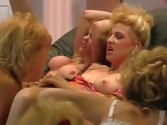 Best pornstar Nina Hartley in incredible blonde, rimming sex scene tube porn video