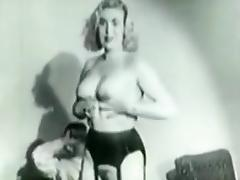 Extremely rare 1953 stag film porn tube video