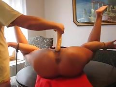 Slutwife tied and used