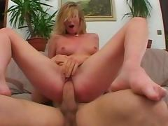 Crazy pornstar Daniella Schiffer in incredible blonde, anal adult scene