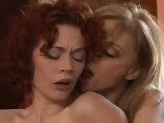 Justine Joli With Nina Hartley