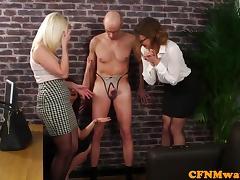 CFNM, Ass, CFNM, Femdom, Mistress, Office