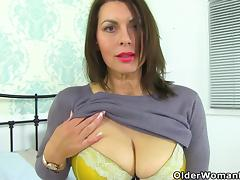 Mom, British, Mature, MILF, Mom, British Mature