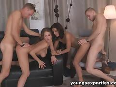 18 19 Teens, 18 19 Teens, College, Group, Orgy, Party