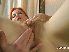 Redhead, Amateur, Hairy, Masturbation, Redhead, Teen