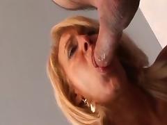Horny pornstar Erica Lauren in hottest cumshots, blowjob adult clip