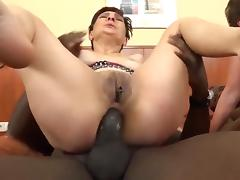 Two grannies doing nasty things tube porn video