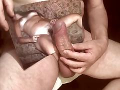 Tribute for paulasally - cumshot on her bush and mambos