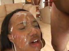 Jizz, Black, Bukkake, Compilation, Ebony, Facial