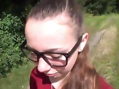 Stefanie heinzmann look-alike auf auto durchgerammelt