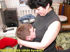 Slideshow: Mom Liza with Finnish Captions porn tube video