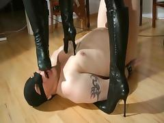 Femdom Humiliation before going out porn tube video
