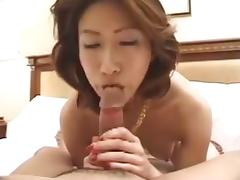 Japanese MILF BJ and HJ