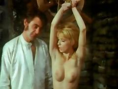 Ingrid Steger tortured and abused in die blonde Haremsdame