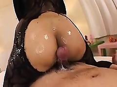 Japanese assjob cumshot compilation